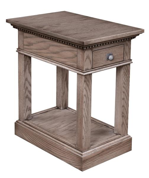 Amish Grand Manor Chair Side Table