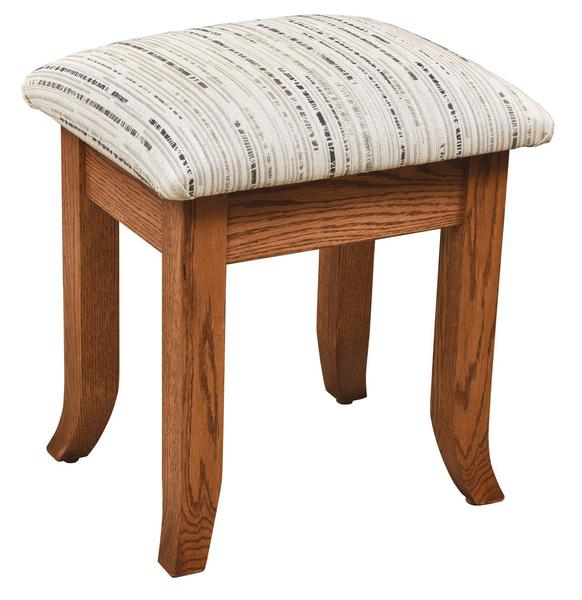 Amish Upholstered Fair Haven Stool