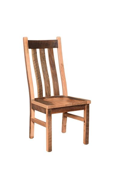 Amish Reclaimed Barnwood Branson Dining Chair