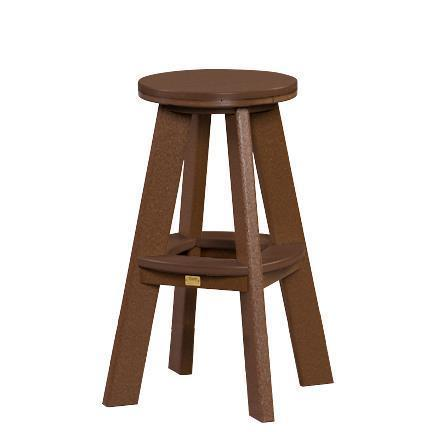 Amish Great Bay Poly Stool with Bar Height