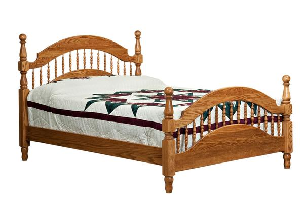 Amish Brentwood Colonial Post Spindle Bed