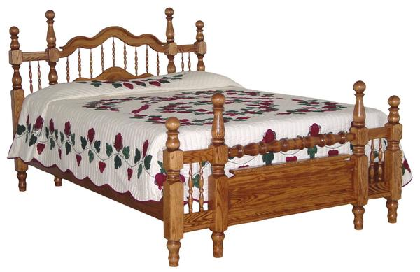 Amish Grandma's Bed