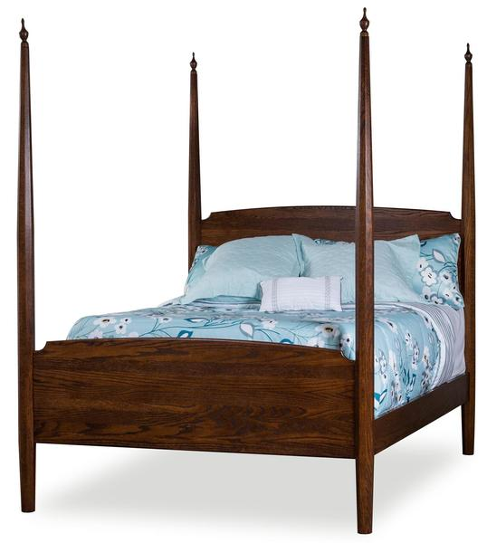 Amish Indian Trail Pencil Post Bed