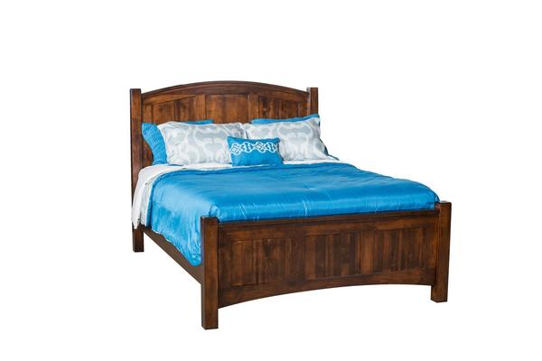 Amish Finland Panel Bed