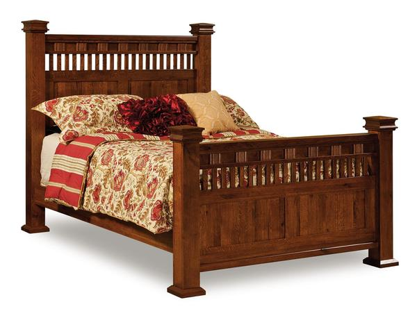 Amish Sequoyah bed
