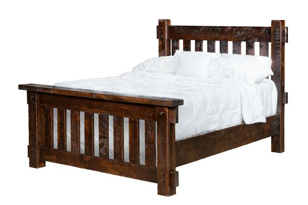 Amish Houston Bed with Standard Headboard
