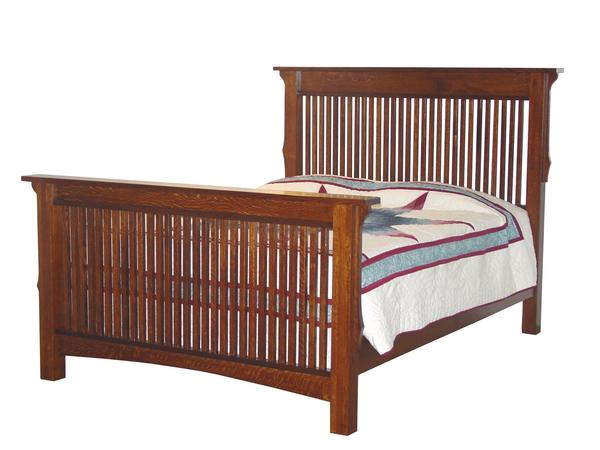 Amish Deluxe Stick Mission Bed