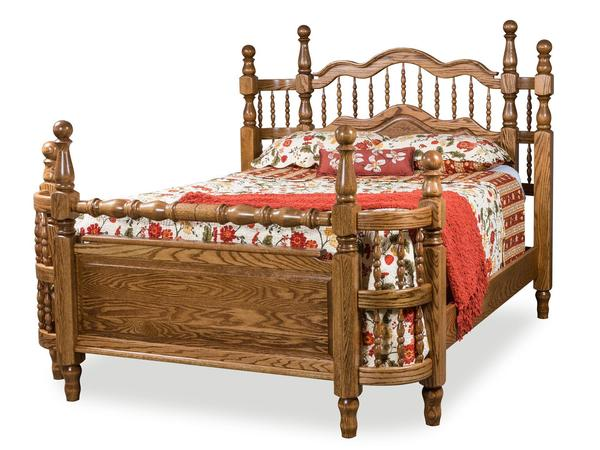 Amish Tall Wrap Around Bed