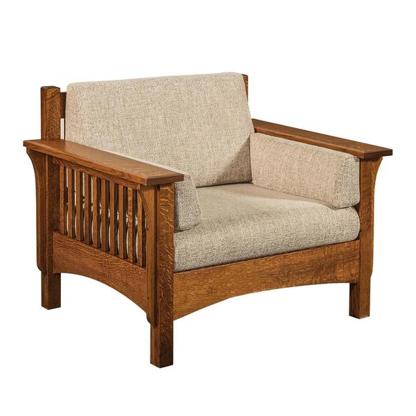 Amish Pioneer Mission Lounge Chair