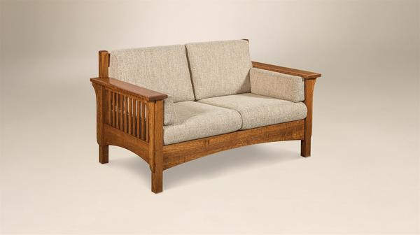 Amish Pioneer Mission Loveseat