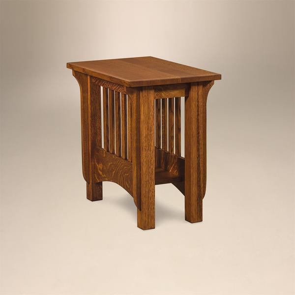 Amish Pioneer Mission End Table