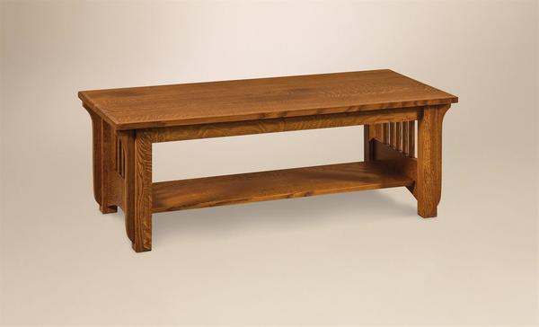Amish Pioneer Mission Coffee Table