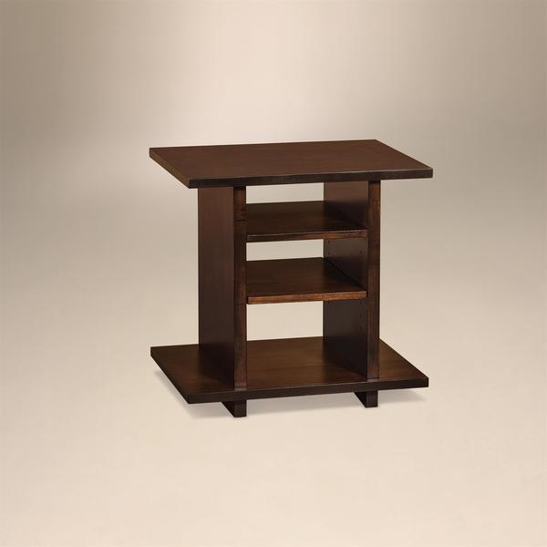 Amish Monterey Contemporary End Table
