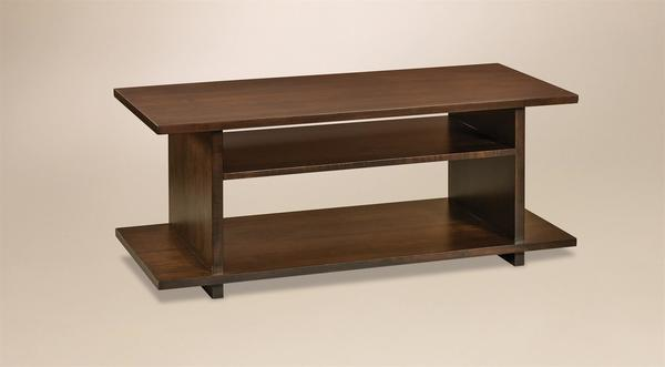 Amish Monterey Contemporary Coffee Table