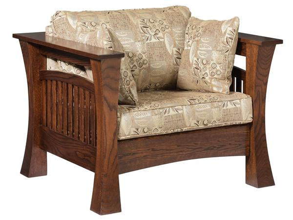 Amish Gateway Lounge Chair