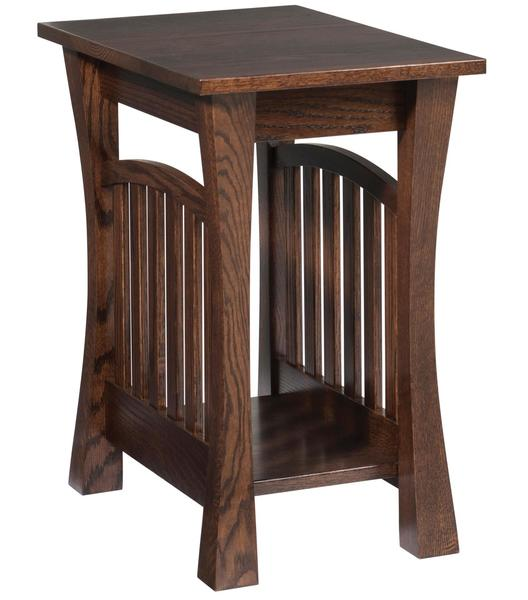 Amish Gateway Chairside End Table