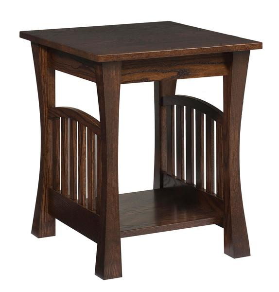 Amish Gateway End Table