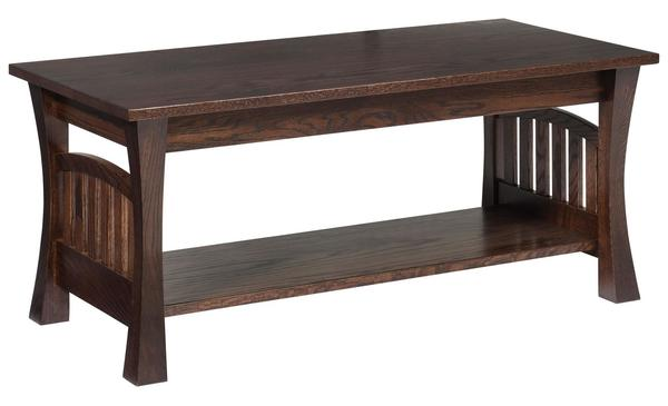 Amish Gateway Coffee Table