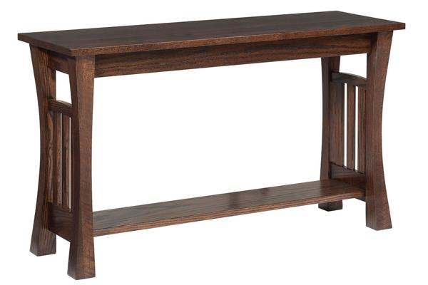 Amish Gateway Sofa Table