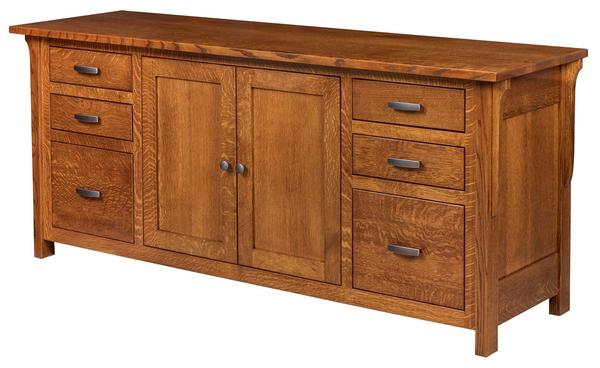 Amish Two Door Boston Credenza