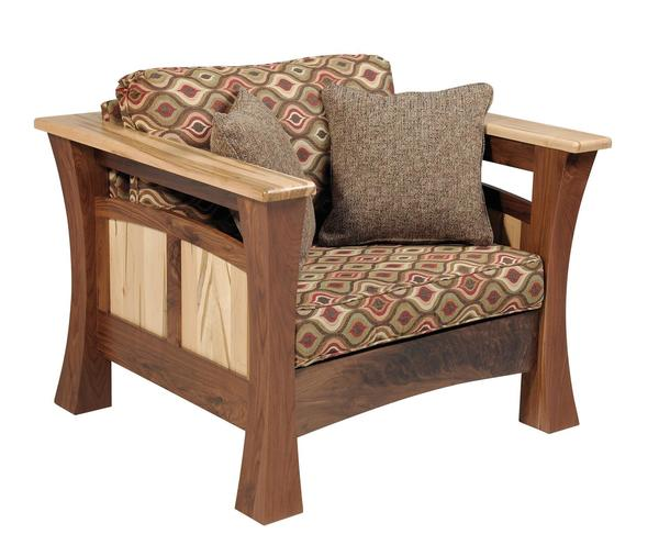Amish Shaker Gateway Lounge Chair