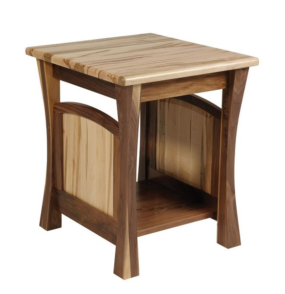 Amish Shaker Gateway End Table