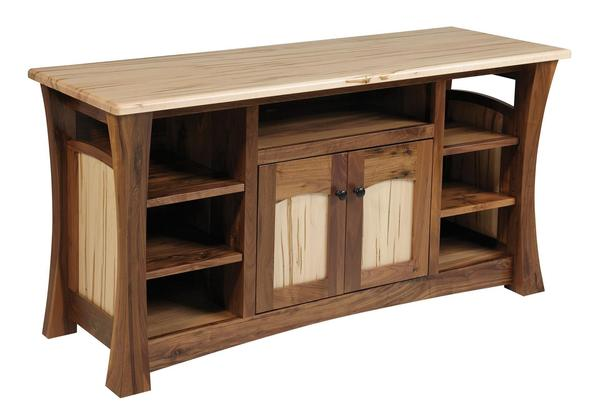 Amish Shaker Gateway TV Stand with 2 Doors