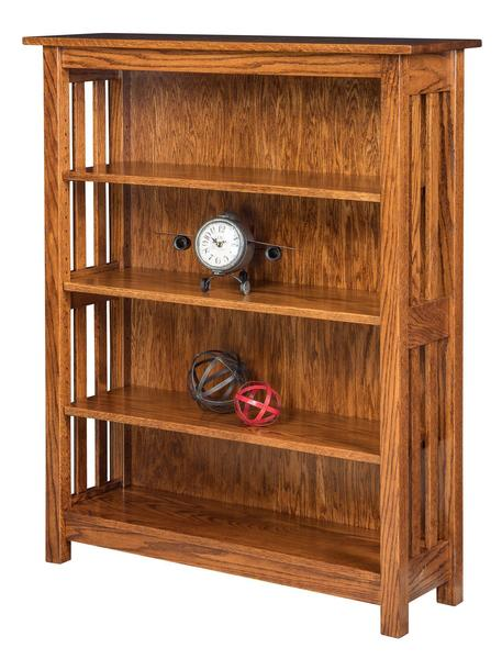 Amish Spring Dale Shaker Open Bookcase