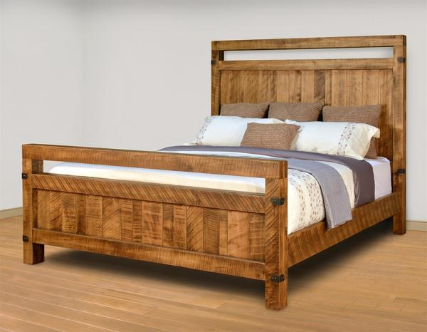 Ruff Sawn Galley Bed