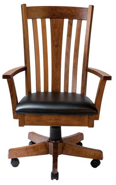 Amish Madison Desk Chair