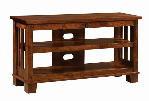 Amish Larado Open TV Stand