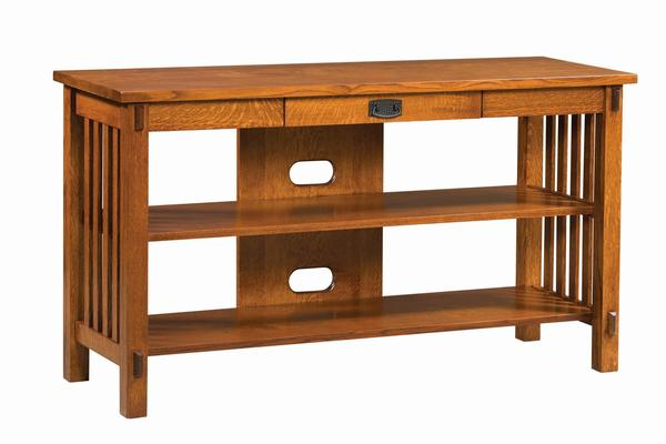 Amish Rio Mission Open TV Stand