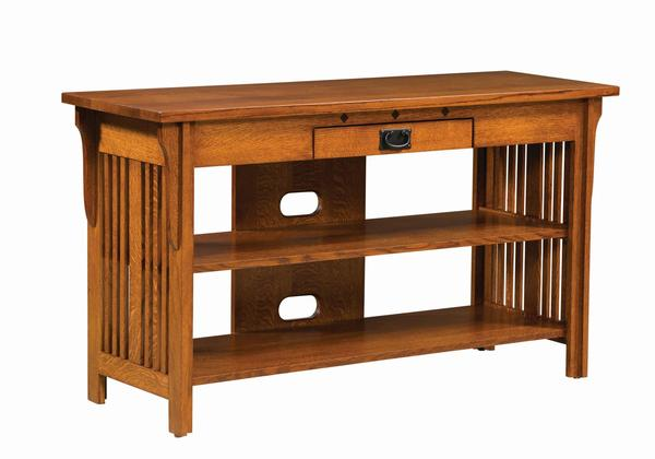 Amish Royal Mission Open TV Stand