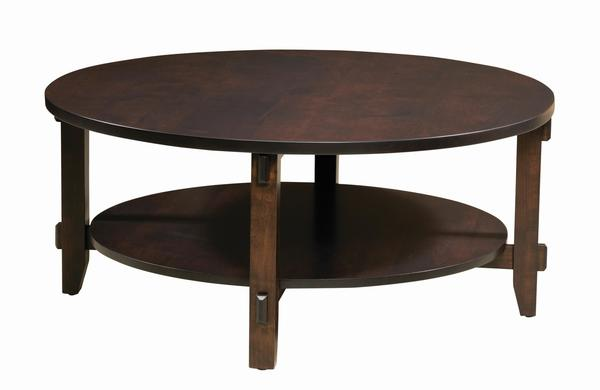 Amish Bungalow Round Coffee Table