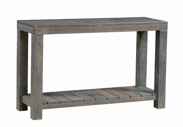 Amish Kingswood Sofa Table