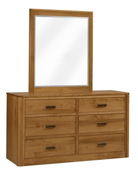 Amish Galaxy Dresser with Optional Mirror