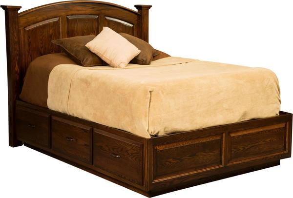 Amish Americana Platform Bed