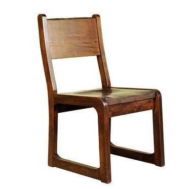 Ruff Sawn Brass Monkey Dining Chair