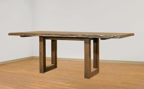 Ruff Sawn Live Edge Modelli Dining Table