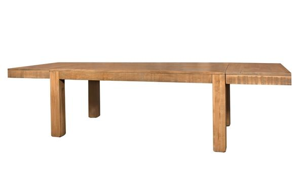 Ruff Sawn Williamsburg Extendable Dining Table
