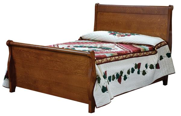 Amish Pierre Tall Bed