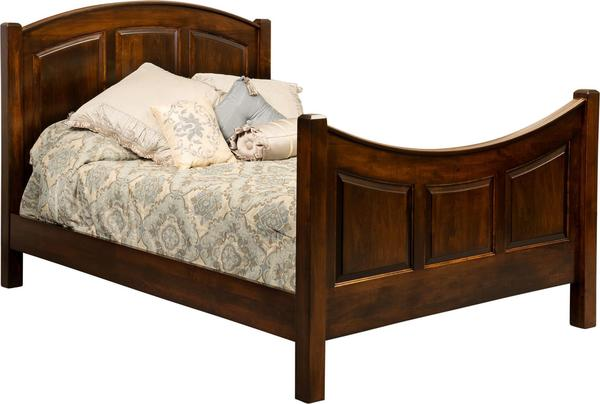 Amish Bowhill Belle Panel Bed