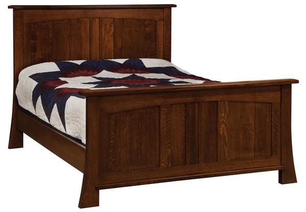 Amish Grant Panel Bed