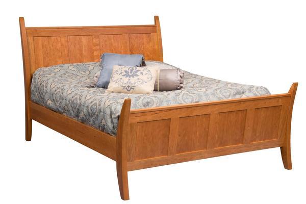 Amish Nantucket Panel Bed