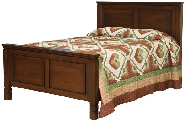 Amish Lynndale Panel Bed