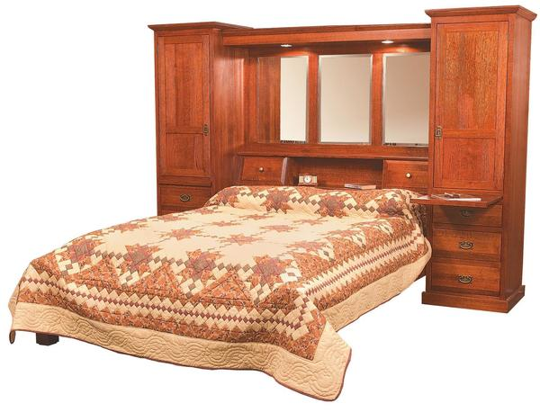 Amish Mission Pier Group Bed
