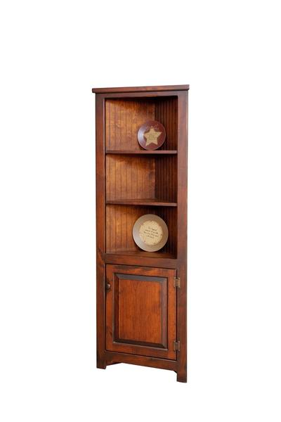 Country-Cottage-Corner Cupboard