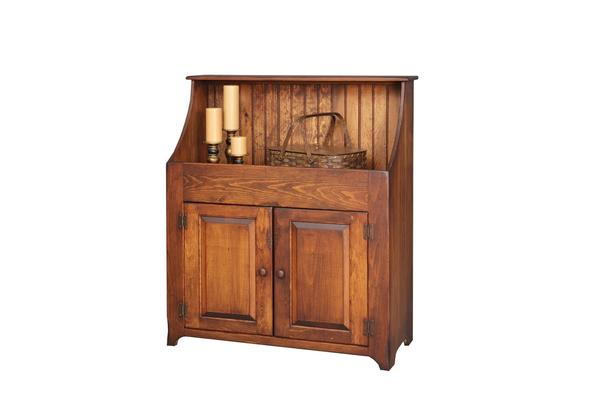 Pine Wood Hi Back Dry Sink