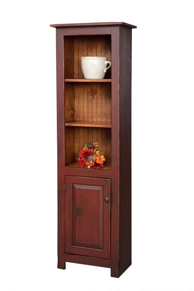 Honey Brook Pine Library Cabinet