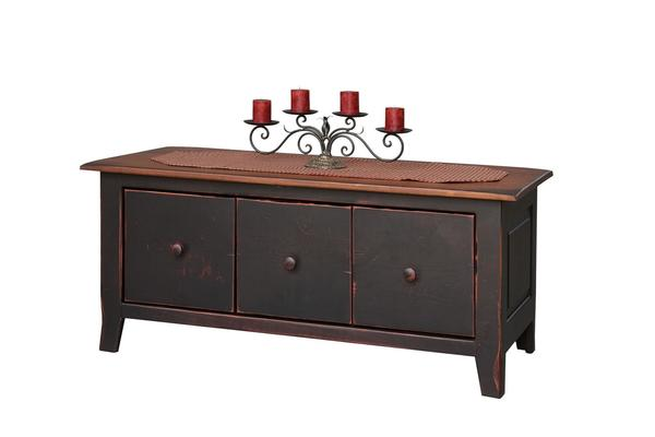 Honey Brook Coffee Table Chest with Drawers